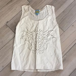 C &C California laser cut tank top
